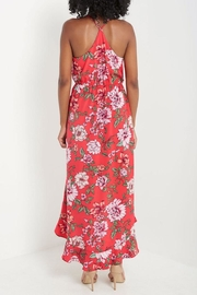 Compendium Floral High-Low Maxi - Side cropped