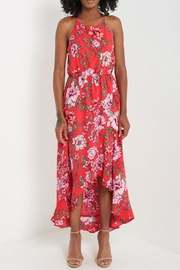 Compendium Floral High-Low Maxi - Front cropped