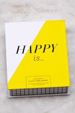 Shoptiques Product: Happy Is Notecard Set