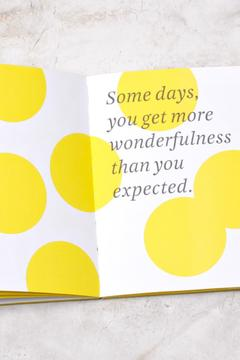 Shoptiques Product: Happy Thoughts Book