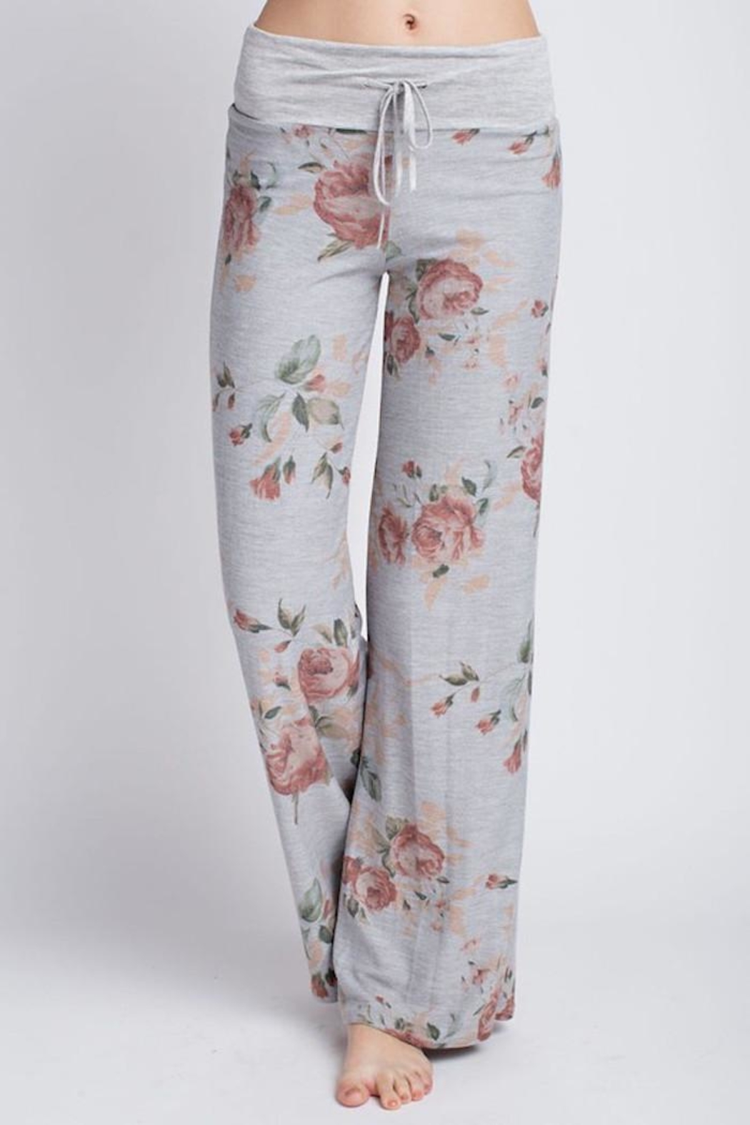 Compendium boutique Ainsley Lounge Pants - Front Cropped Image