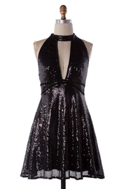 Compendium boutique Black Party Dress - Product Mini Image