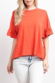 Compendium boutique Coral Organic-Cotton Tee - Product Mini Image