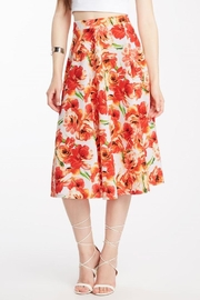 Compendium boutique Flora Midi Skirt - Product Mini Image
