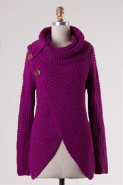 Compendium boutique Magenta Angela Pullover - Product Mini Image