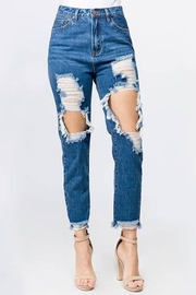 Compendium boutique Ripped Jeans Dark - Product Mini Image