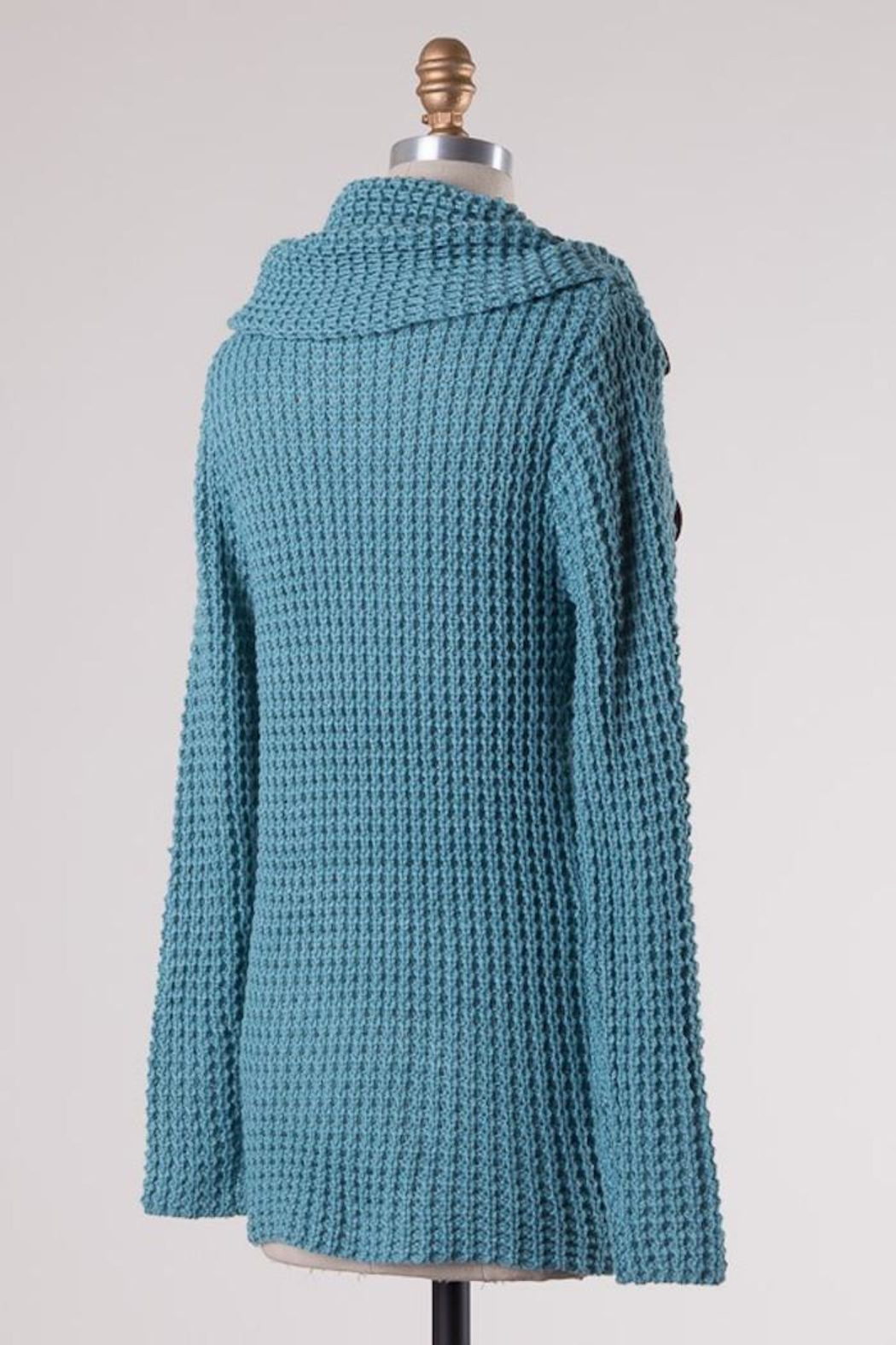 Compendium boutique Skyblue Angela Pullover - Side Cropped Image