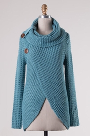 Compendium boutique Skyblue Angela Pullover - Front cropped