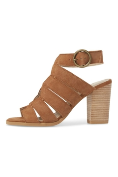 Seychelles Shoes Completely Engaged Tan Suede Stack Heel - Alternate List Image