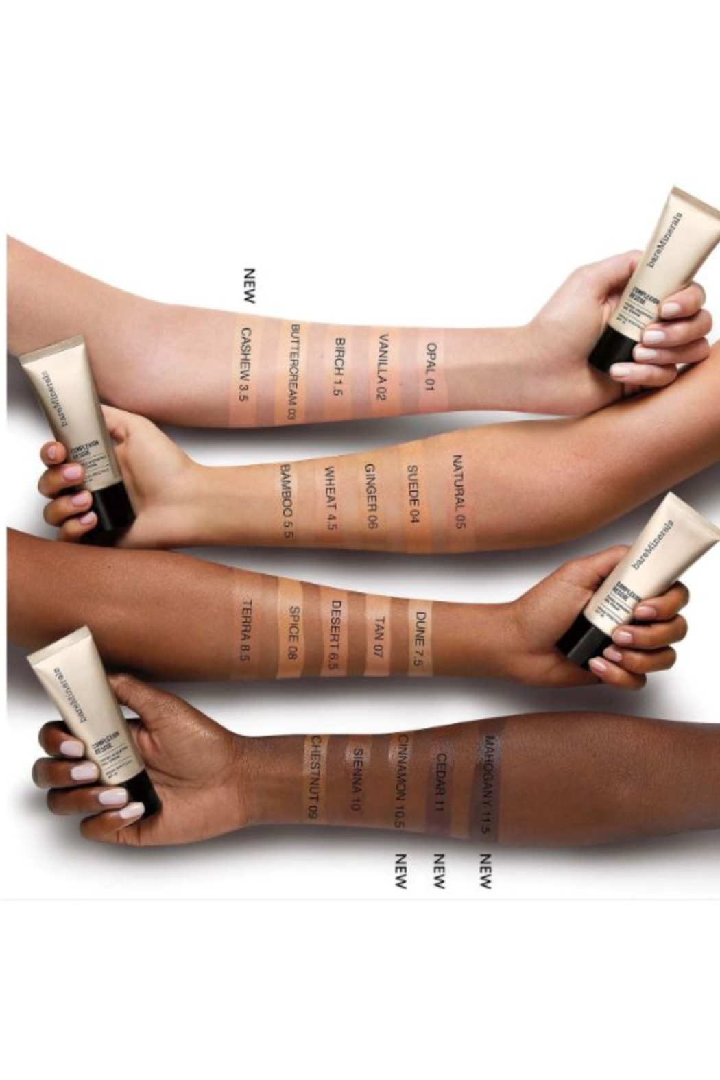 bareMinerals COMPLEXION RESCUE™ TINTED MOISTURIZER - HYDRATING GEL CREAM BROAD SPECTRUM SPF 30 - Front Full Image