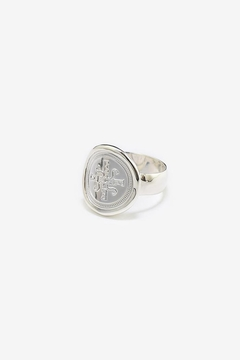 Eduardo Sanchez Concave Signature Ring - Product List Image