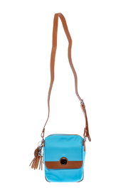 Concealed Carrie Blue Carrie Crossbody Bag - Front cropped