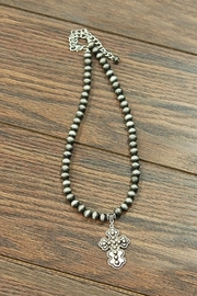 JChronicles Concho-Cross Navajo-Pearl Necklace - Product Mini Image