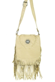 Scully Concho Leather Crossbody - Product Mini Image