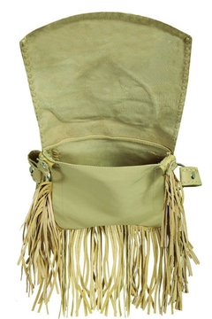 Scully Concho Leather Crossbody - Alternate List Image