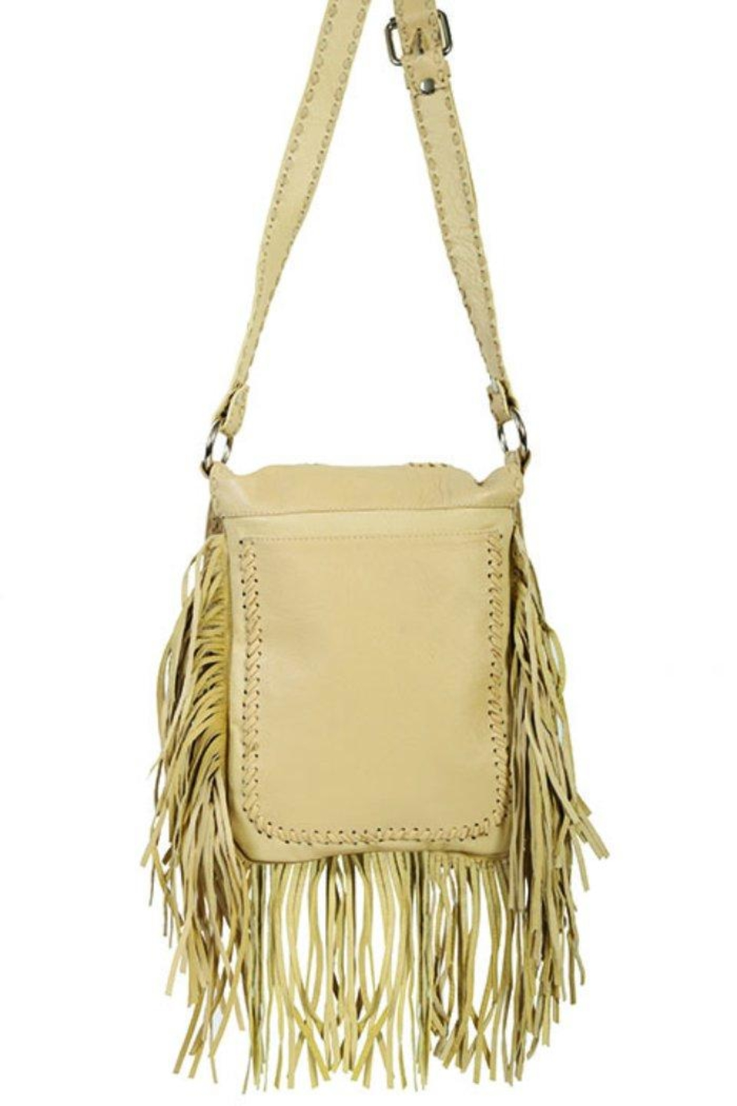 Scully Concho Leather Crossbody - Front Full Image