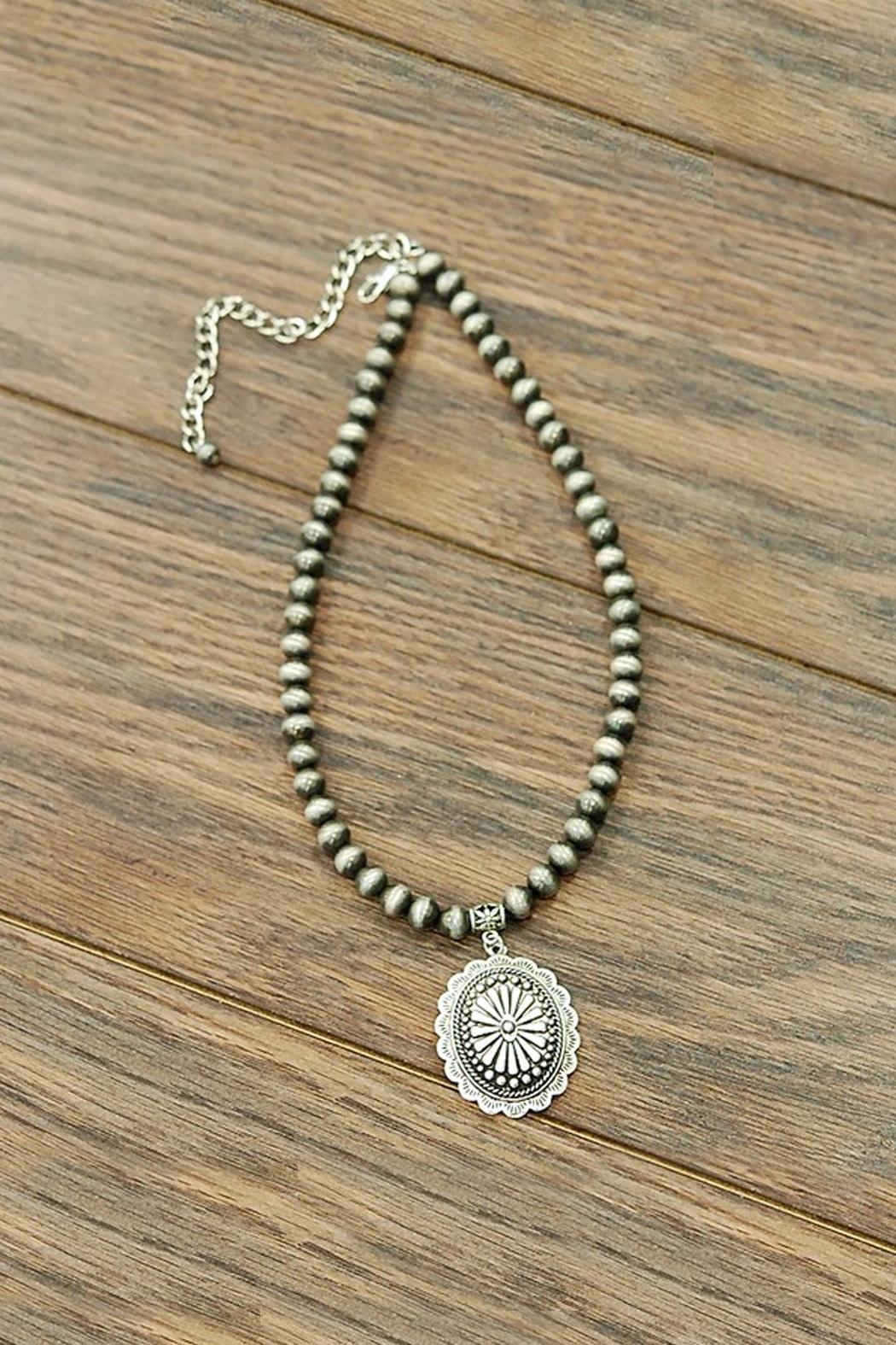 JChronicles Concho Navajo-Pearl Necklace - Main Image