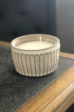 Mud Pie Concrete Citronella Candles - Product List Image