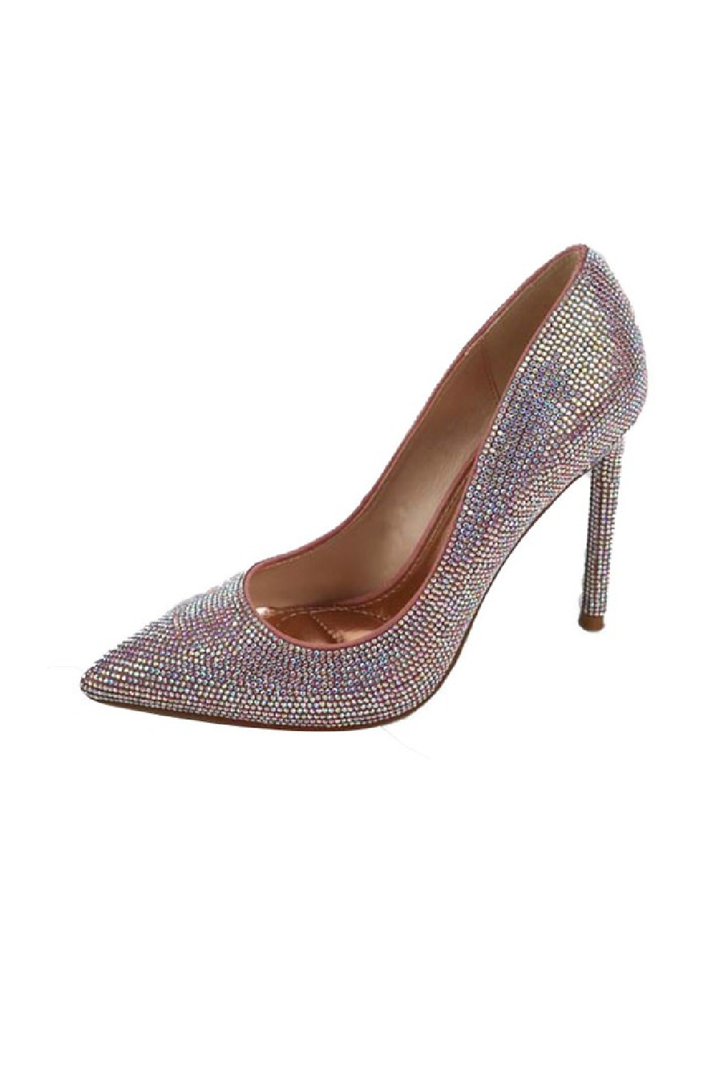 anne michelle Condition-11 Iridescent Pump - Front Cropped Image