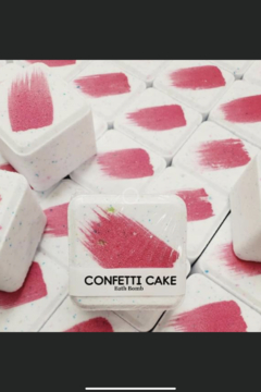 The Pampered Hen Confetti Cake Bath Bomb - Product List Image