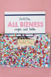 Packed Party Confetti Card Holder - Front cropped