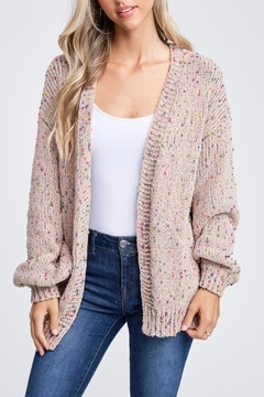 Shoptiques Product: Confetti Cute Cardigan