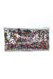 Julie Mollo Confetti Glitter Clutch - Front full body