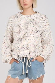 POL Confetti Knit Sweater - Product Mini Image