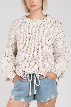 POL Confetti Knit Sweater - Product List Image