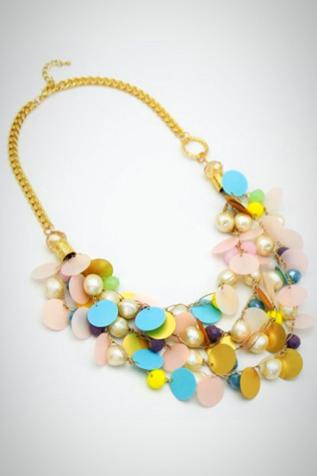 Embellish Confetti  Necklace - Main Image