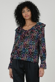 Molly Bracken Confetti Print Blouse - Product Mini Image