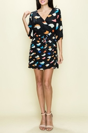 Glam Confetti Wrap Dress - Product Mini Image