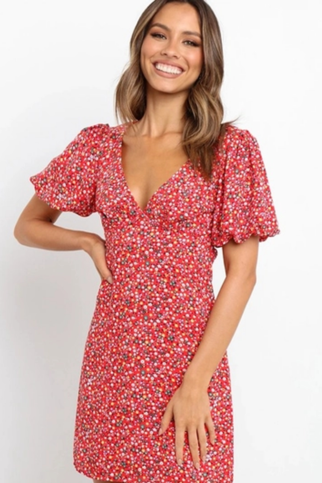 Esley  Confident Cutie Dress - Side Cropped Image