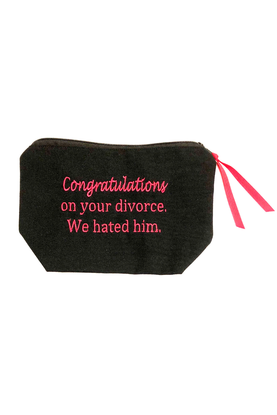 Dani Risi Congratulations on your divorce. We hated him. Pouch - Main Image