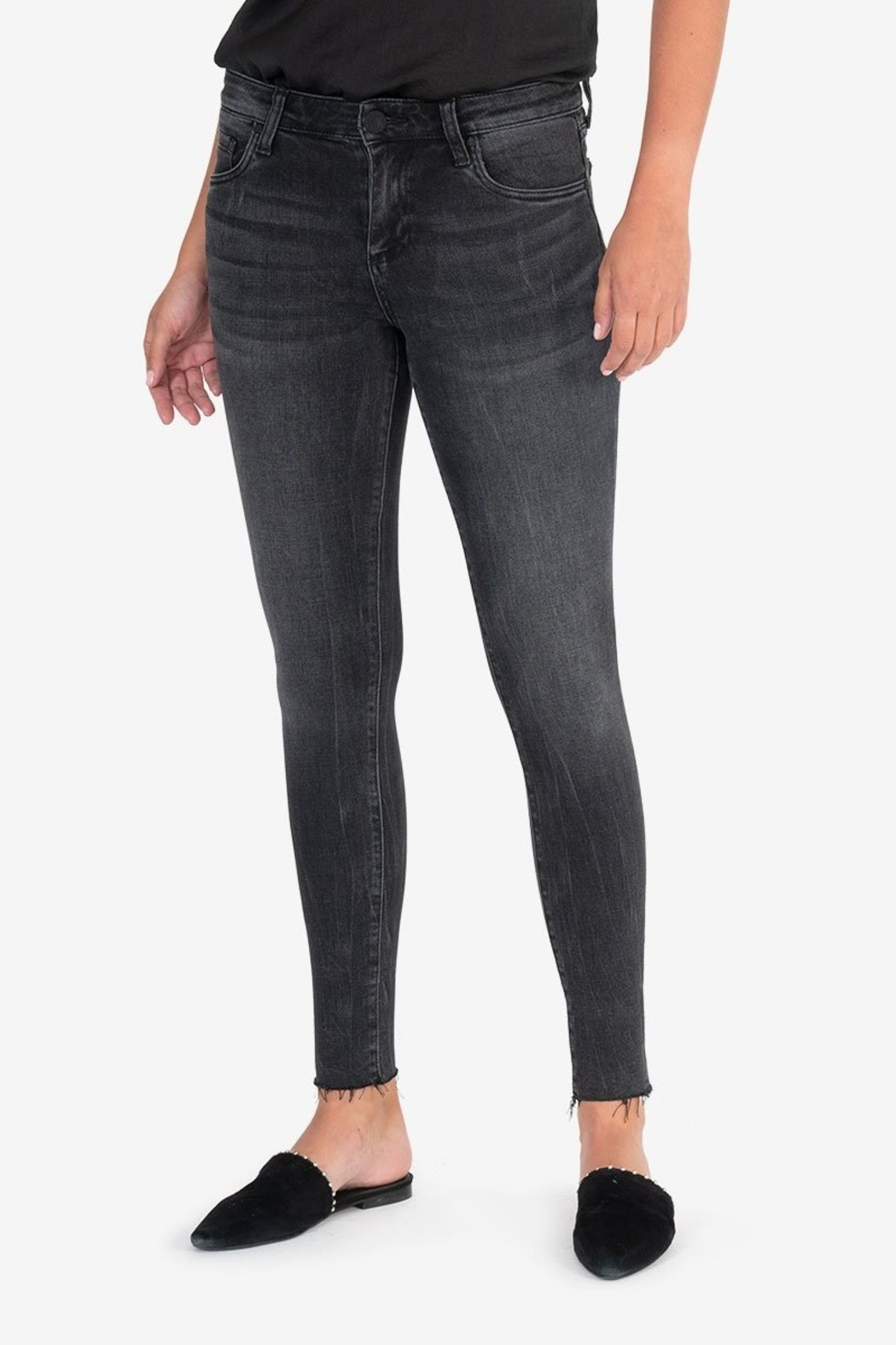 Kut from the Kloth CONNIE ANKLE RAW HEM - Main Image
