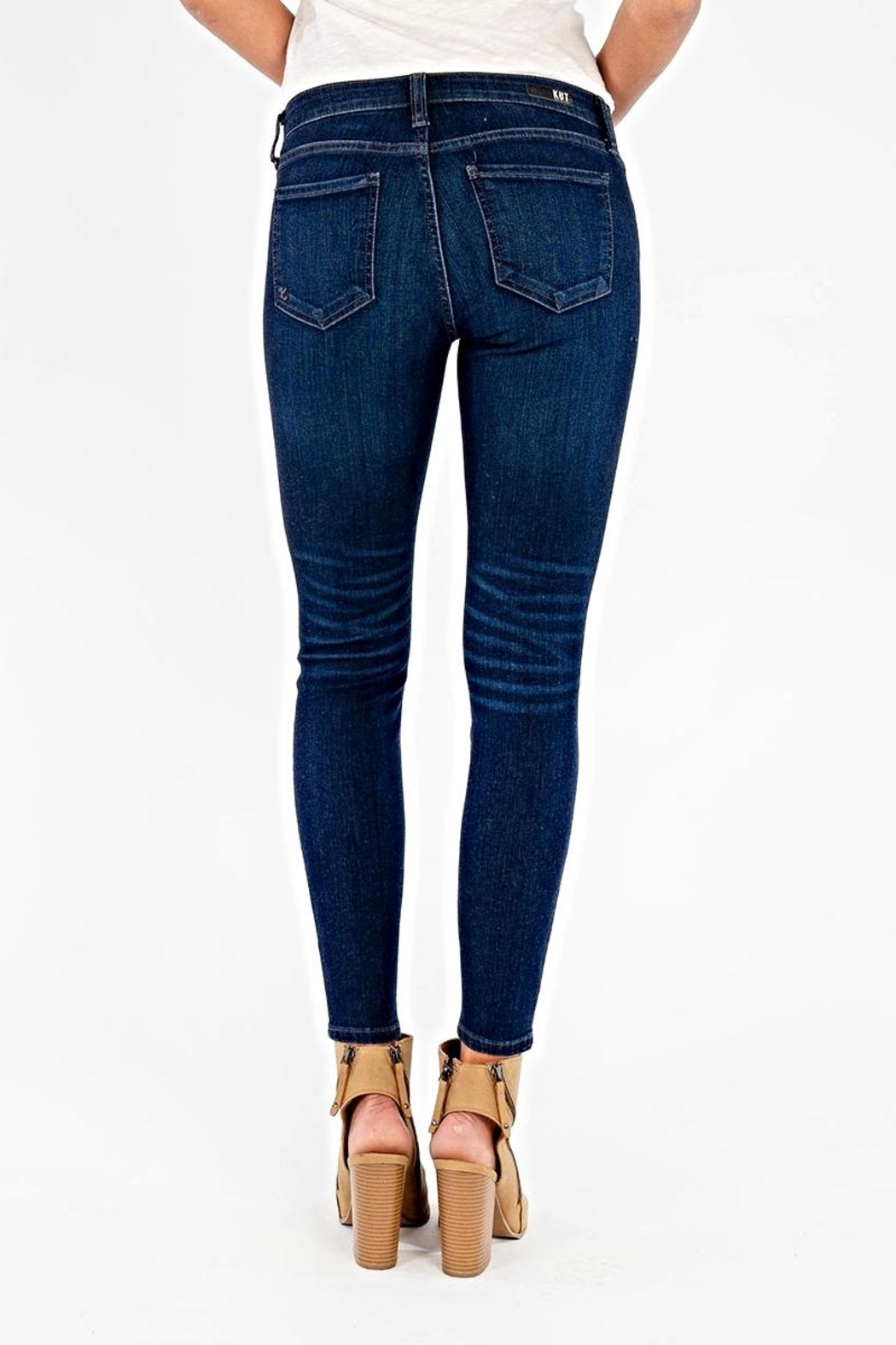Kut from the Kloth Connie Ankle Skinny - Back Cropped Image