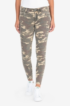 KUT Connie Ankle Skinny- Camo - Product List Image