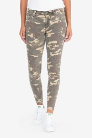 KUT Connie Ankle Skinny- Camo - Front cropped