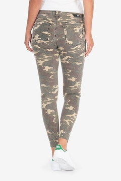KUT Connie Ankle Skinny- Camo - Alternate List Image