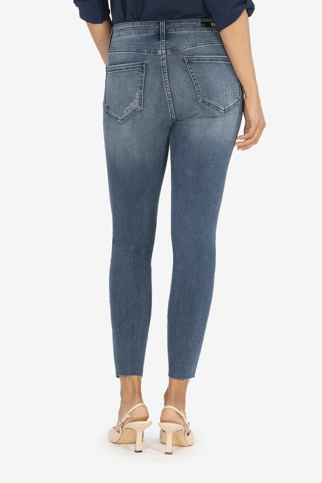 KUT CONNIE H/R ANKLE SKINNY - Side Cropped Image