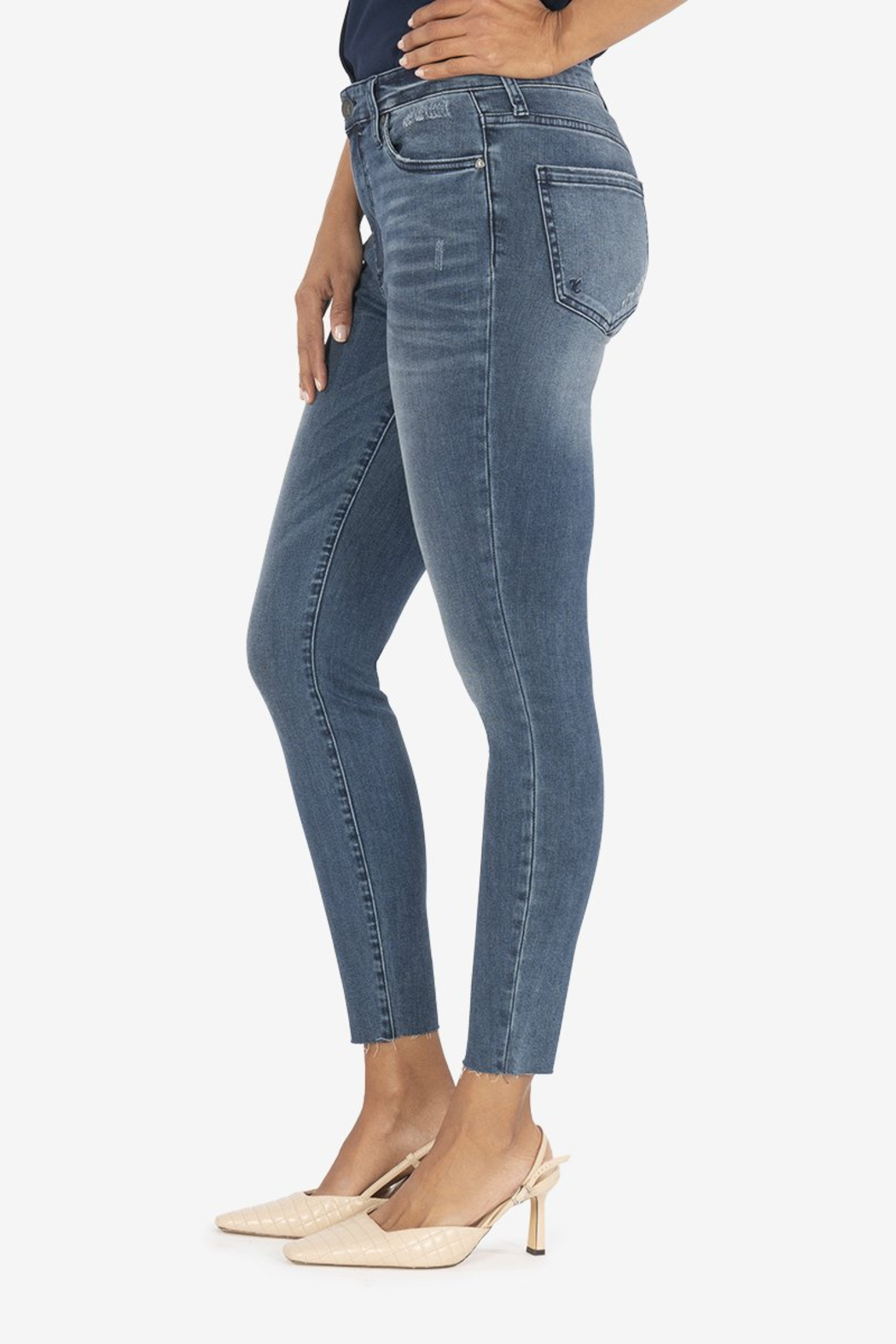 KUT CONNIE H/R ANKLE SKINNY - Front Cropped Image