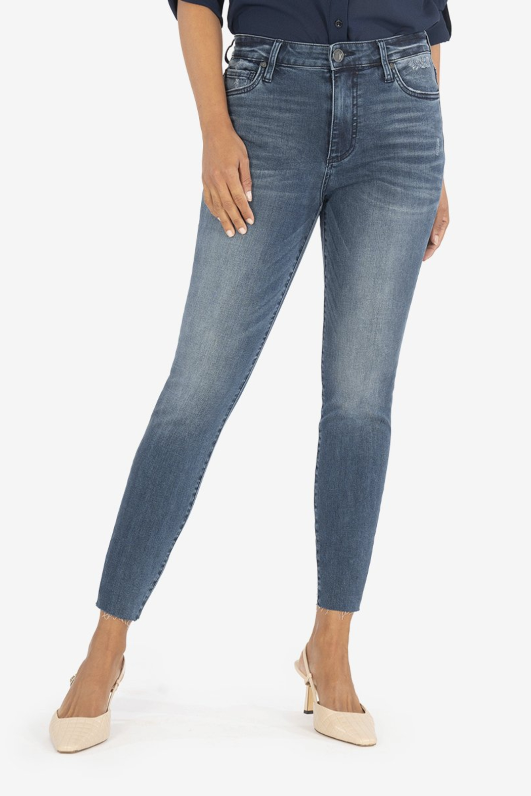 KUT CONNIE H/R ANKLE SKINNY - Main Image