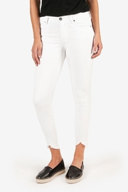 Kut from the Kloth Connie H/R White Skinny - Product Mini Image