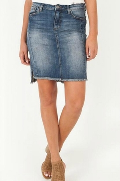 Kut from the Kloth Connie Hi-Low Skirt - Product List Image