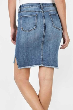 Kut from the Kloth Connie Hi-Low Skirt - Alternate List Image