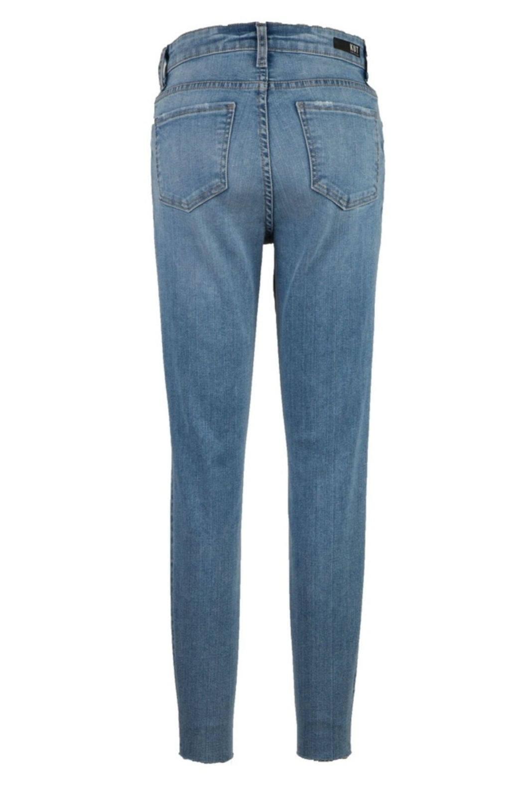 KUT Connie High Rise Ankle Skinny - Front Full Image