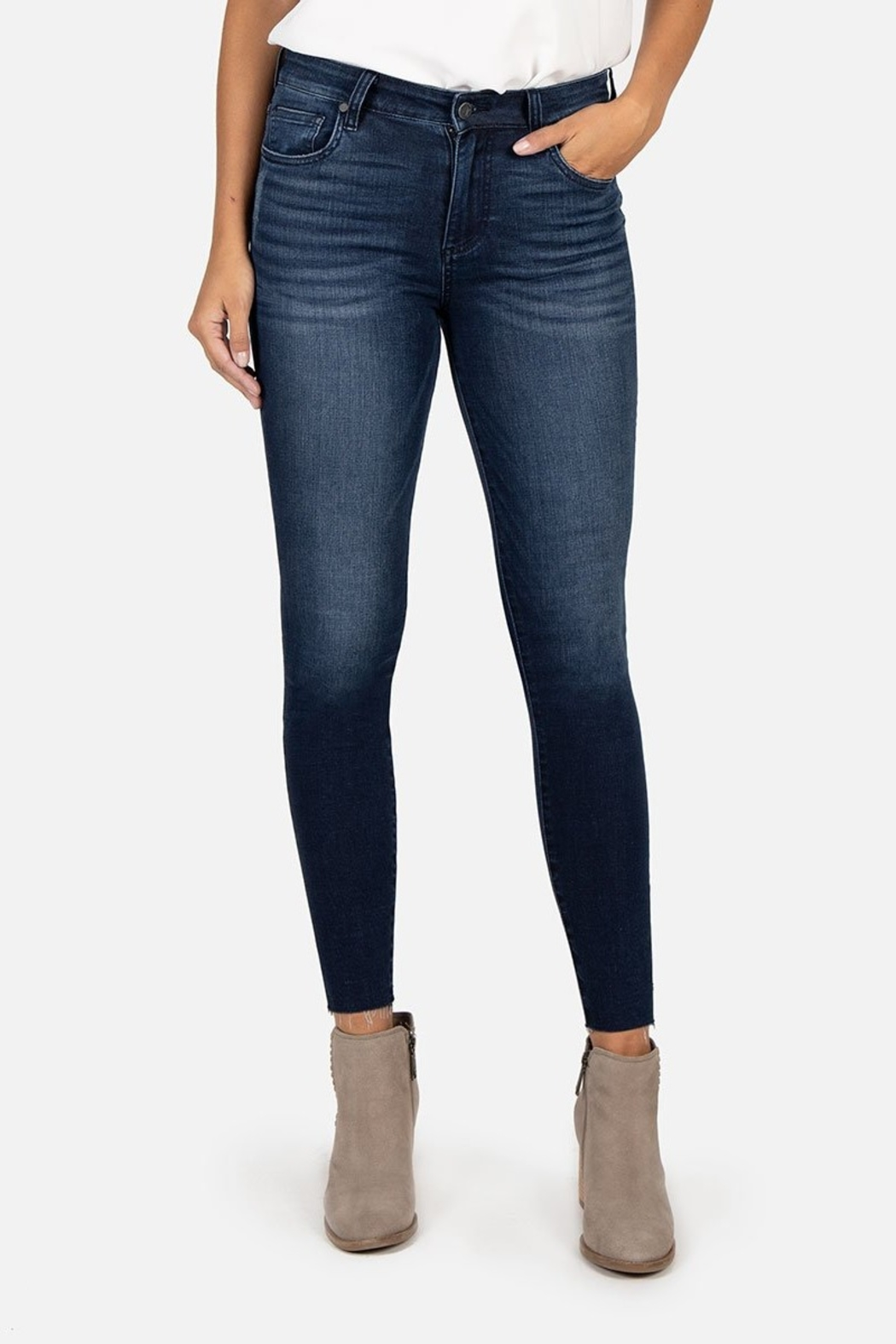 Kut from the Kloth CONNIE HIGH RISE ANKLE SKINNY - Main Image