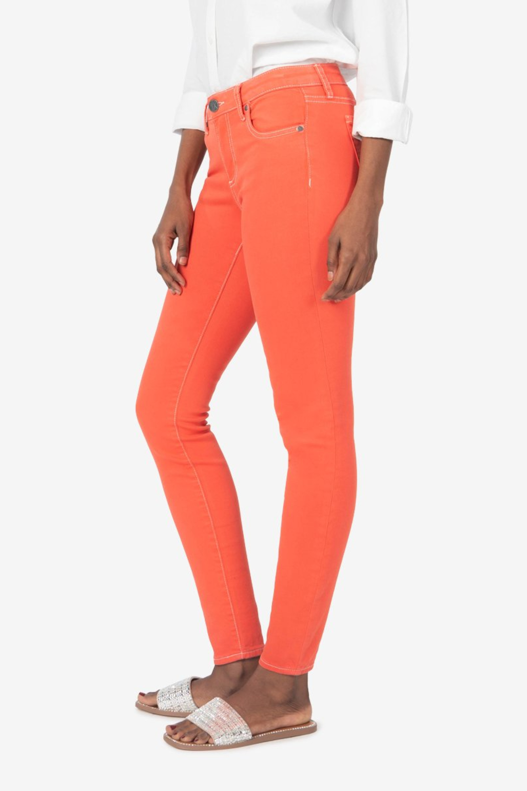 Kut from the Kloth Connie High Rise Fab Ab Slim Fit Jeans - Main Image