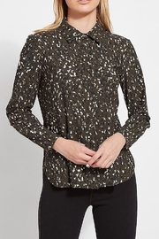 Lyssé Connie Slim Button Down Blouse - Product Mini Image