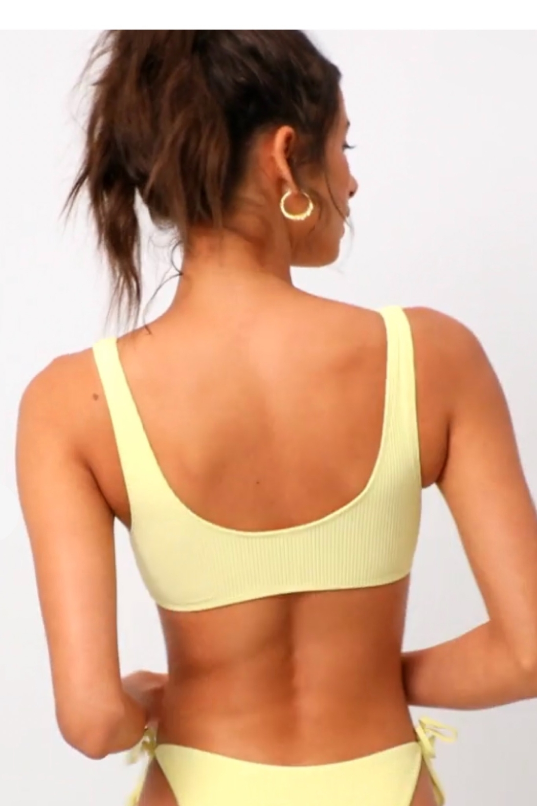 Frankies Bikinis Connor Top - Back Cropped Image
